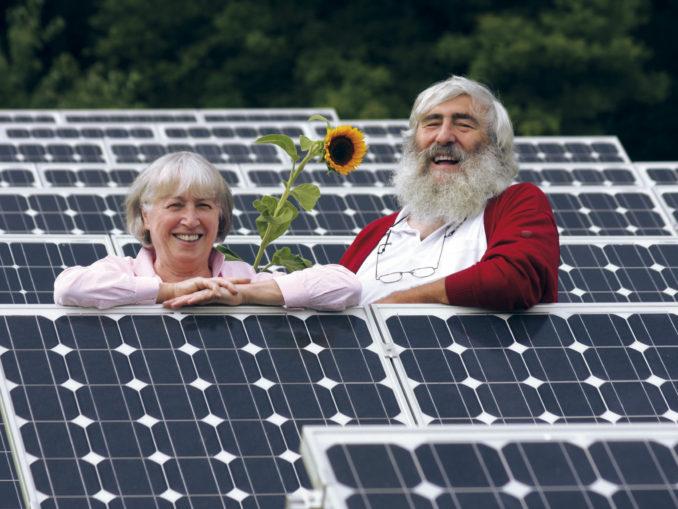 Ursula Sladek und Dr. Michael Sladek, Mitbegründer EWS Elektrizitätswerke Schönau eG